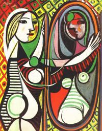 Пабло Пикассо. Девушка перед зеркалом