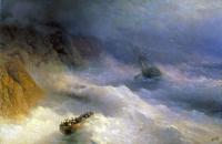 Storm at Cape Aya
