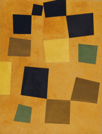 Untitled (Squares arranged according to the laws of the case)