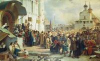 Василий Васильевич Верещагин. Осада Троице-Cергиевой лавры. 1891