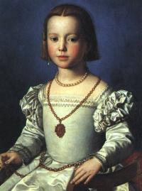 Аньоло Бронзино. Биа, незаконная дочь Козимо I де Меди