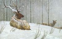 Роберт Бейтман. Вечерний снегопад
