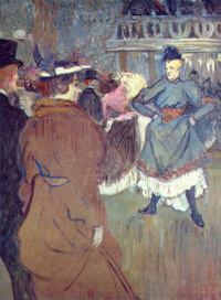 """In """"Moulin Rouge"""", the beginning of the quadrille"""
