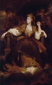 Portrait of Sarah Siddons as a Muse of Tragedy