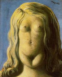 Rene Magritte. Rape