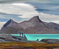 Рокуэлл Кент. Фиорд Сермилик, Гренландия