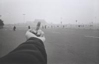 Изучение перспективы. Площадь Тяньаньмэнь