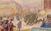 Пьер Боннар. Утро в Париже