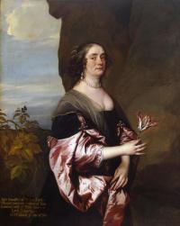 Portrait of Jane Wenman, lady Goodwin