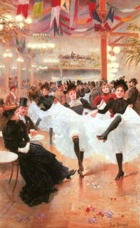 In the cafes of Paris