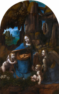 Virgin of the rocks (Madonna of the grotto)
