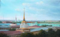 Александр Сергеевич Тербушев. Санкт-Петербург.Адмиралтейство.
