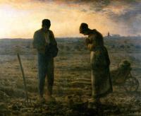 Жан-Франсуа Милле. Анжелюс (Вечерняя молитва)