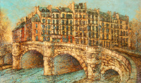 Paris. The Bridge Pont Neuf,