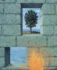 Rene Magritte. Mental complacency