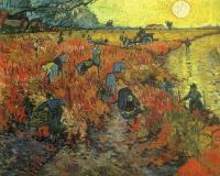 Винсент Ван Гог. Красные виноградники в Арле