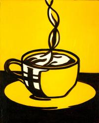 Рой Лихтенштейн. Чашка кофе