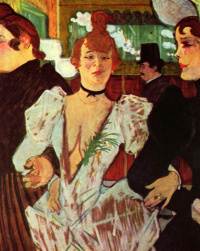 """La goulue with her friends is included in """"Moulin Rouge"""""""