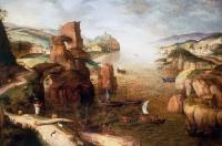 Питер Брейгель Старший. Христос и апостолы на Тивериадском озере
