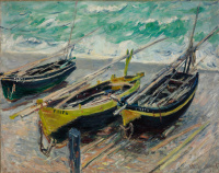 Claude Monet. Fishing boats