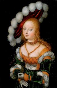 Portrait of a noble lady