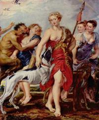 Питер Пауль Рубенс. Диана с нимфами перед отправлением на охоту