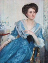 Richard Edward Miller. In blue.