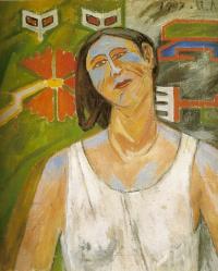 Portrait of Natalia Goncharova