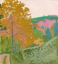 Осенний пейзаж, Ошванд