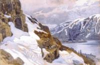 Николай Константинович Рерих. Горный пейзаж. Альпы