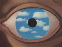 Rene Magritte. Distorting mirror