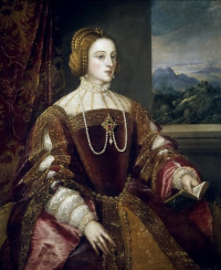Тициан Вечеллио. Императрица Изабелла Португальская