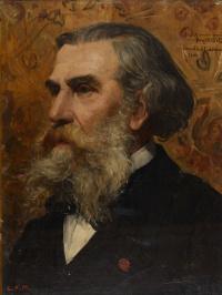Портрет А.П. Боголюбова.