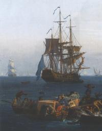 Клод Жозеф Верне. Корабль
