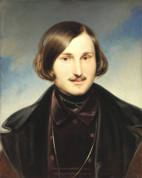 Portrait of the writer Nikolai Vasilyevich Gogol