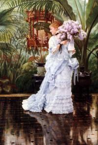A bouquet of lilacs