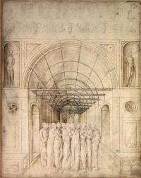 Двенадцать апостолов в сводчатой галерее