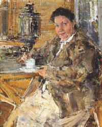 Николай Иванович Фешин. Мать художника Прасковья Фешина