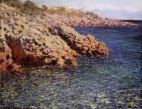 Клод Моне. Скалы на средиземноморском побережье