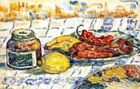 Paul Signac. Still life with pepper