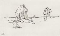 Лев и волк