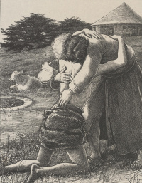 """The prodigal son. """"The parables of our Lord and Savior Jesus Christ"""""""