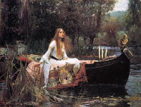 John William Waterhouse. Lady of Shallot