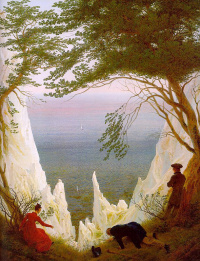 Меловые скалы на Рюгене