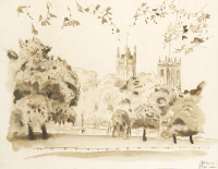 Вид на Сент-Джеймс-парк, Лондон