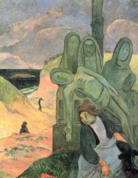 Поль Гоген. Зелёный Христос