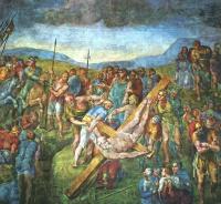 Микеланджело Буонарроти. Распятие Святого Петра