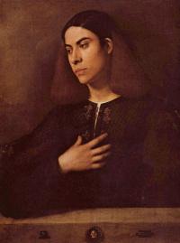 Джорджоне. Портрет Антонио Броккардо