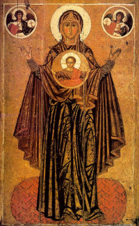 The Virgin Great Panagia (Orans)