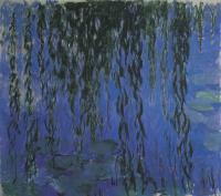 Клод Моне. Водяные лилии и ветви плакучей ивы